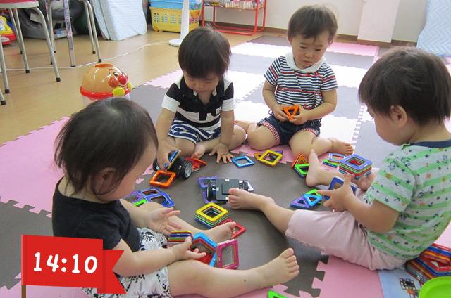 ヤクルト保育所 知育玩具